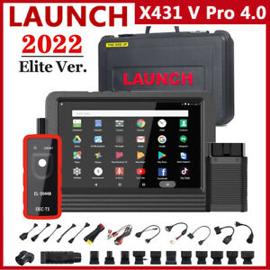 Launch X431 V Pro Key Programming Bi directional Scan Tool Full System Scanner