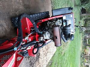 2016 Barreto Sg30tracked Stump Grinder With A 6 x12 Trailer W Easy Lift Gate