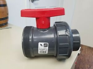 New Spears 2 Pvc Ball Valve
