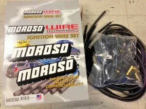 Moroso Mag Tune Universal Spark Plug Wires Kit Hei 90 Degree Unassembled
