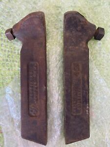 Armstrong No 2 r And No 2 l Lathe Tool Bit Holder