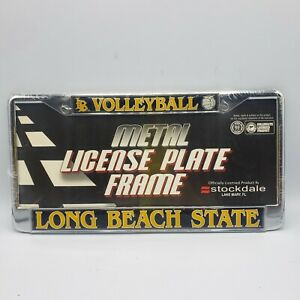 Long Beach State Volleyball Metal License Plate Frame Holder New