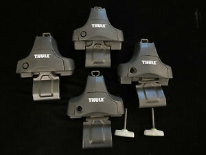 Set Of 4 Thule 480r Rapid Traverse Foot Packs Towers Local Pickup Only Austin