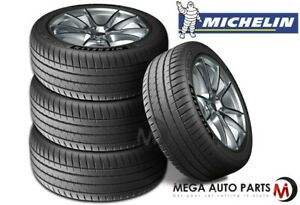 4 Michelin Pilot Sport 4s 255 45r18 103y Max Performance Summer Tires 30000 Mile