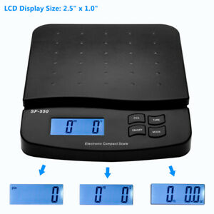 66lbs Postal Scale Digital Shipping Cooking Electronic Mail Capacity Of 30kg 1g