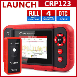2020 Launch Obd2 Scanner Crp123 Engine Diagnostic Scan Tool With El 50448 Tpms
