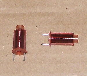 0 95 1 3uh Variable Rf Coil Inductor Vintage Pc Mount Radio Tv Part 1uh Avg