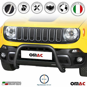 For Jeep Renegade 2015 2018 Black S steel Bull Bar Front Bumper Grill Guard