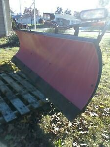 Boss Snow Plows For Sale 7ft Sport Duty Lt Jeep Ford Ranger Western Meyers Mower