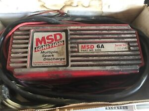 Used Msd Ignition Box 6a 6200