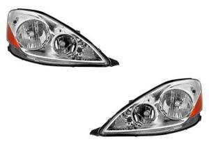 Headlights For Toyota Sienna 2006 2007 2008 2009 2010 Pair Without Hid