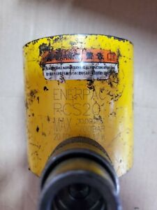 Enerpac Rcs 201 Hydraulic Cylinder 20 Tons Capacity 10 000psi Used