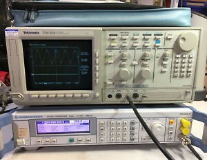 Tektronix Tds 820 Oscilloscope 6ghz Excellent Condition passes Self Test Spc