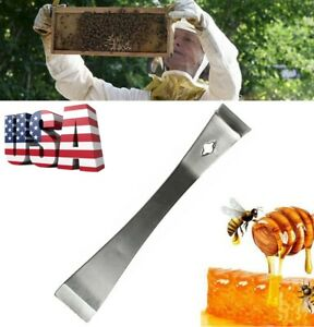 1pc Stainless Steel Hive Tool Scraper Tool Beekeeping Equipment Tool Us Stock