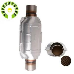 2 5 Inlet Outlet Catalytic Converter Universal Fit Epa Approved Stainless Steel