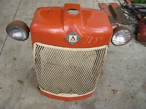 Vintage Allis Chalmers D 17 Tractor grille Housing Screen Assembly 1958