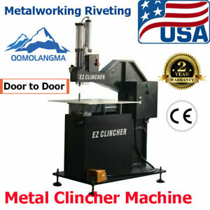 Us Automatic Metal Clincher Channel Letter Making Metalworking Riveting Machine