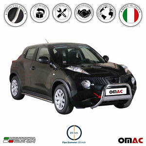 For Nissan Juke 2011 2017 Bull Bar Front Bumper Grill Guard Stainless Steel