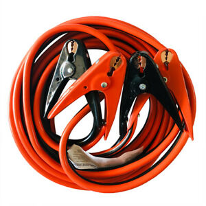 12 16 20 25ft Heavy Duty Power Booster Cable Emergency Car Truck Battery Jumper