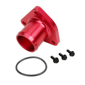 Billet Thermostat Housing Leak Seal Fit For 1999 2003 Ford Powerstroke 7 3l Red