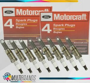 Set Of 8 Ford Motorcraft Sp 515 Pzh14f Spark Plugs Platinum Sp 546 F150 F250