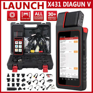 Launch X431 Diagun V Obd2 Bidirectional Automotive Scanner Full System Scan Tool