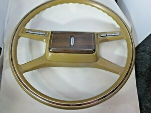1978 1983 Excellent Mercury Zephyr Steering Wheel And Horn Button Pad Oem