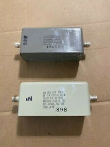 Microwave Filter Co 2246 25 505516 25 Rev N 116 150 Mhz 15w Low Pass Filter