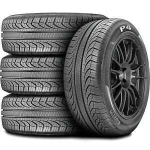 4 New Pirelli P4 Four Seasons Plus 225 60r16 98t As All Season A S Tire