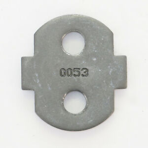 Handle Threaded Stiffner Mounting Plate For Hurst 3 And 4 Speed Shifters