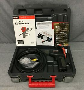 Ridgid Micro Ca 25 Hand held Inspection Camera With Free Shipping