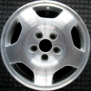Acura Legend Machined W Silver Pockets 16 Inch Oem Wheel 1993 To 1995