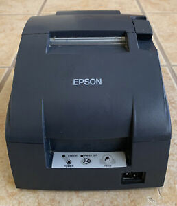 Epson Model Tm u220b Serial Receipt Printer M188b No Power Supply Free Ship