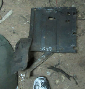 1962 Cadillac Core Support Panel Drivers Side 61