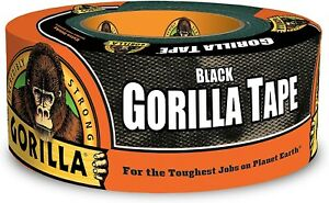 Black Gorilla Duct Tape Heavy Duty Double Thick 1 88 Inches X 35 Yard 1 Roll