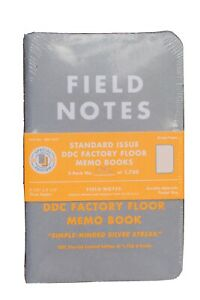 Field Notes Standard Issue Ddc Factory Floor Sealed 3 pack 1356