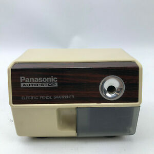 Vintage Panasonic Electric Pencil Sharpener Kp 110 Auto stop Tested Works