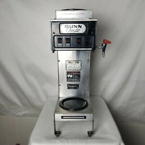 Bunn o matic 12 Cup Coffee Maker Commercial 3 warmer Pressure Or Pour Over