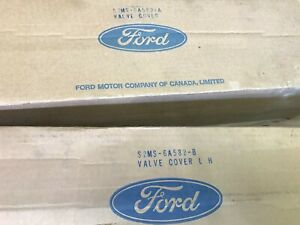 1968 69 70 Ford Mustang Shelby Gt 350 Nos Valve Cover Set S2ms 6a582 b A