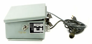 Sensor Ib1a With Alpha Wire Power Supply Vintage Science Laboratory Equipment
