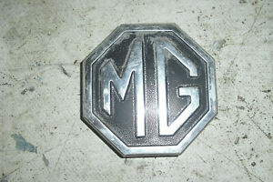 Mgb Trunk Boot Lid Metal Logo Emblem Badge 1970 1980