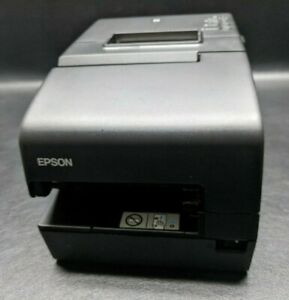 Epson Tm h6000v 054 Pos Thermal Receipt Printer M253b Ethernet Usb