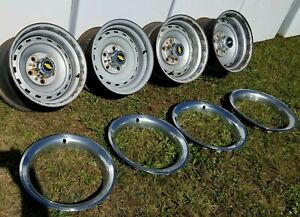 Chevrolet Gmc Truck 15x8 Rally Wheels 5x5 1971 To 1987