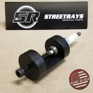 Streetrays Spark Plug Gapper Tool Gap Gapping Tool Sparkplug 14mm Gapper Black
