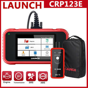 Launch 5in Obd2 Scanner Crp123e Engine Abs Srs Code Reader Diagnostic Scan Tool