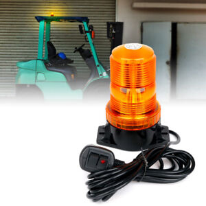 Xprite Amber Yellow 30 Led Beacon Strobe Light Trucks Rooftop Emergency Warning