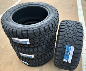 4 New Lancaster Ls 57 R T Lt 35x12 50r22 Load E 10 Ply Rt Rugged Terrain Tires