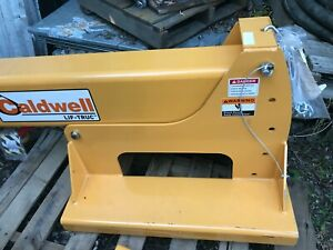 Forklift Boom 4 000 Lbs Pivoting 7to12ft Telescoping Modell Pb 40 New