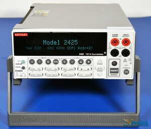 Keithley 2425 100w Sourcemeter Smu Nist Calibrated Source Meter 0 012 Accuracy