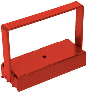 150 Pull Heavy Duty Handle Magnet Red 07210 1 Each
